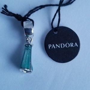 Pandora Disney, Elsa's Dress Dangle Charm Silver